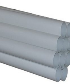 PVC pipe 2'' for central vacuum installation