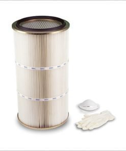 CI881 Washable polyester filter cartridge for separator LT 90/B with self-cleaning, central power units K100, K100A, K200, K200A, KOMPATTA KT line